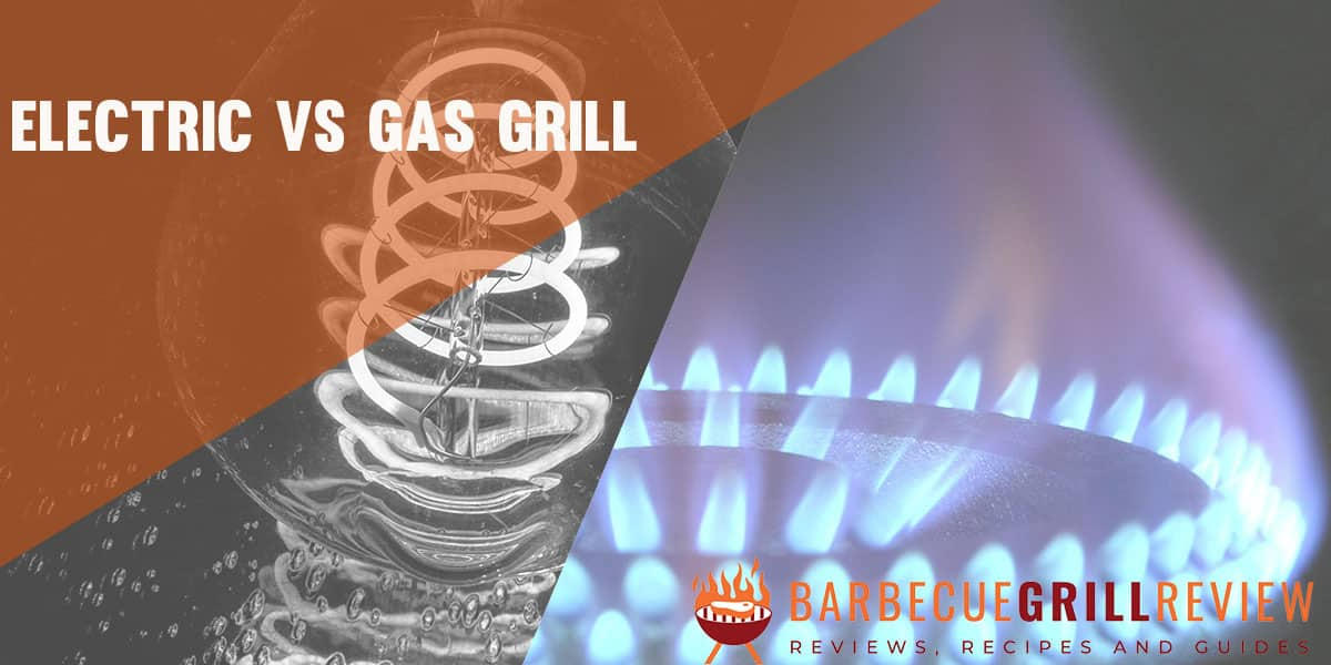 electric vs gas grill image